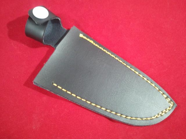 イノシシの皮剥包丁用サック 携帯用サック