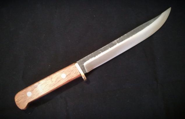 手打ち 登山刀 210mm 青紙2号 実用ナイフ 狩猟・アウトドア